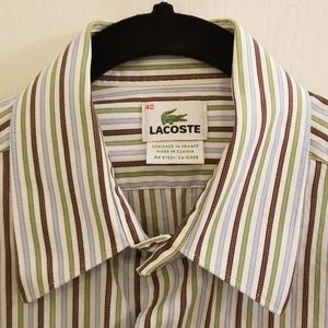 LACOSTE COLLAR SHIRT (LIKE NEW)